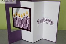 Stampin' Up! Quick and Easy cards / cardmaking ideas, simple cards with wow factor, Stampin' Up! products used to make all occasion cards fast