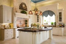 My Dream Home: Kitchens / kitch·en ˈkiCH(ə)n/noun 1. a room or area where food is prepared and cooked. / by Karen ~