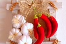 Овощи и фрукты текстиль
