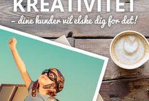 CreativeByHeart.dk / Be inspired to Think Different on my blog http://creativebyheart.dk The blog is in Danish.