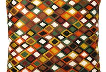 Kleurrijke sierkussens  / Sierkussens in verschillende en opvallende kleurcombinaties