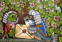 Alice in W:Art/Asya Belowa / Alice in wonderland (illustrator)