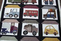 Boy quilts