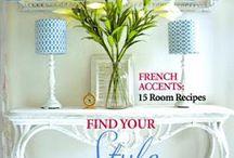 interiør blader og hjem