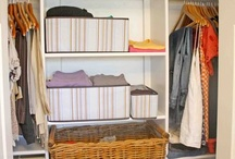 Organized Storage / Closets, storage spaces and other great organized items for life.  / by Tiffany Muehlbauer