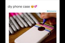 Cute little DIY / Just a cute little DIY phone case hope this gives inspiration