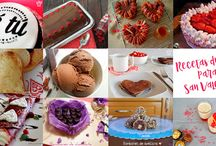 Recetas para San Valentín / Recetario con ideas dulces y saladas para el Día de los Enamorados