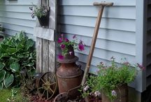 Rustic gardens / Things I love for my gardens