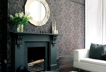 fireplace mantel ideas / by Lisa Simirenko