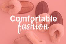 Comfortable Fashion / Who says you can't be comfortable and look good? Here's your guide to the shoes and style that keeps you on your feet and looking good.  / by ShoeBuy