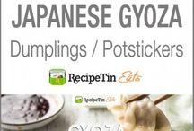Japanese. Potstickers