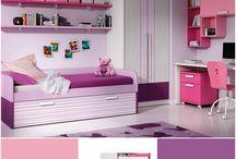 Habitaciones en rosa