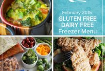 Gluten Free Dairy Free February 2015 Menu / From comforting soups to healthier spins on sloppy joes and hamburger helper our Gluten Free Dairy Free February 2015 Menu is filled with memorable dishes to keep your freezer stocked and your insides warm. / by Once A Month Meals