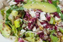 Salad / Green salad, spinach salad, kale salad, fresh salad, veggie salad #salad