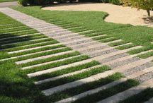садовое мощение