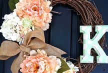 Door Decor / by Kelly Yarbrough