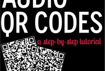 QR y códigos varios / Colección de pines sobre el uso educativo de códigos QR y su generación.