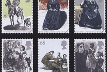 British postage stamps / by Robert Wright