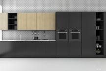 Back to Black / Kitchen design