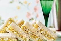 Tea Time / Ideas for a ladies champagne tea / by Nancy Chard Jones
