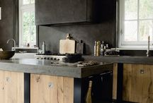 interiors-kitchens  / by Susan Kennedy