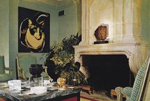Vintage Interiors. / by Jamie House | Jamie House Design