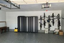 Garage Organization / With many storage options, including overhead storage, cabinets and shelving, we're able to transform your space into a truly organized and functional part of your home.
