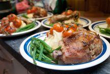 Porsjonsberegning,mat til mange.