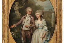 18th century: Couples/romantic