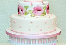 Wedding cakes with flowers / Wedding cakes decorated with flowers - Wedding cake ideas