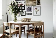 Étkező inspirációk / Lakberendezési inspirációk szobák szerint: étkező, ebédlő / by Csorba Anita