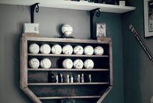 Baseball Decor and Wishlist
