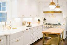 kitchen brass hardware