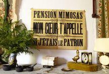 Deco & Paper / El papel es un buen aliado en decoración. Amor por los papeles viejos