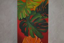 floral backboards