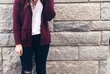 maroon clothing