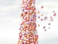 ballons a float / by Gayle Ann