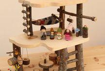 drevený domček