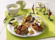 Weltmeisterlicher Geflügelgenuss / Leichte und unkomplizierte Geflügelgerichte sind die perfekte Stärkung für die Fußball-WM 2014!