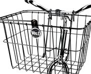 Wald Front Bicycle Baskets / Bicycle baskets are the definition of functionality. By simply clamping a bicycle basket to your handlebar or rack, you can easily carry more stuff to and from where ever you may be pedaling. You keep your hands where they belong and can balance the new weight appropriately.