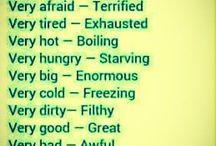 Grammar big adjectives