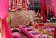 Indian Party Decor
