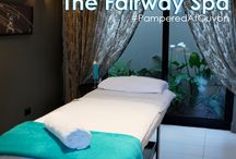 The Fairway Spa / The Fairway Spa invites you to immerse yourself in our oasis providing an ideal retreat from the demands of the city. Hidden away in a leafy Randpark suburb, right on the Randpark Golf Course, the Fairway Spa awaits.