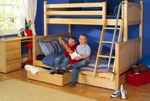 Boys Bedroom Ideas / Inspirations for your boys bedroom - from toddler to teen. Boys bedroom furniture, style, configurations, lofts, bunk beds, forts, curtains, tents & more!