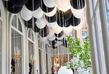 Event Styling - Black & White