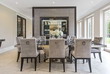 Dinning Room Furniture / Designed, Manufactured and Fitted by Mitchell and Stanley.