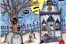 Halloween er her