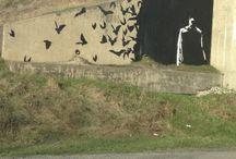 Graffiti , Street Art and Murals / by Michelle Lækre