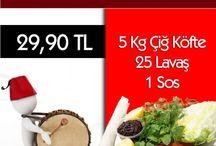 Çiğ Köfte / Çiğ Köfte siparişi