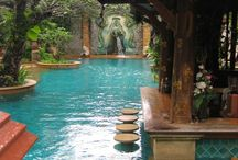 piscinas exóticas